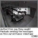 Image of Machado on surveillance videotape